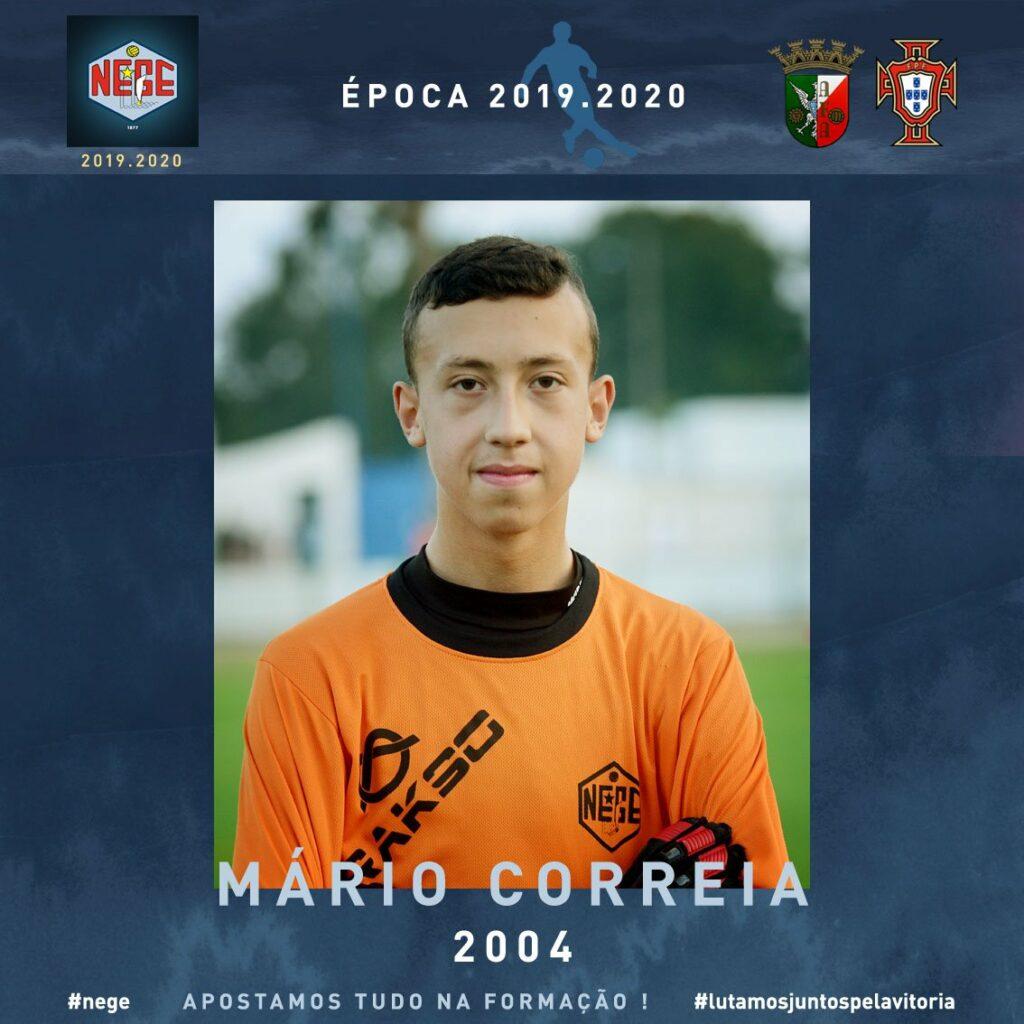 NEGE JUVENIS Mário Correia