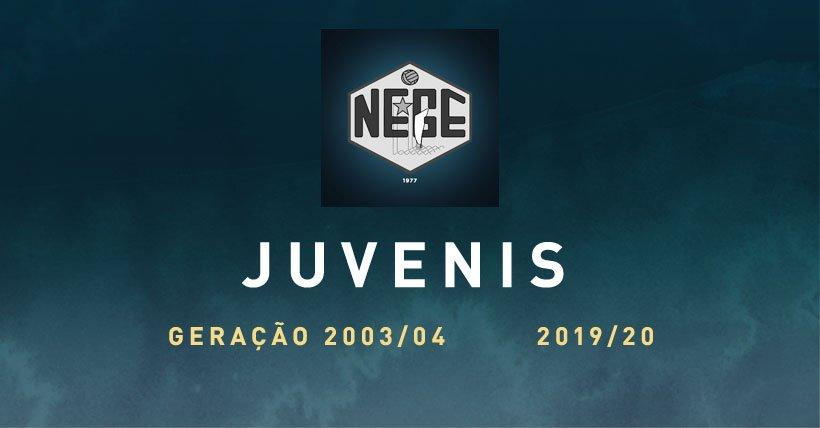 NEGE JUVENIS  NEGE 2019.2020 Constituição das equipas de formação do clube. Estas são os nossos jogadores da equipa de Juvenis da geração de 2003 e 2004.