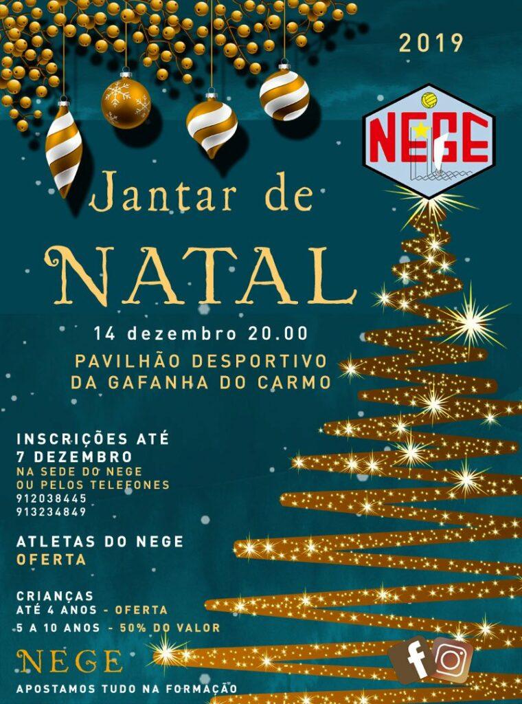NEGE JANTAR DE NATAL
