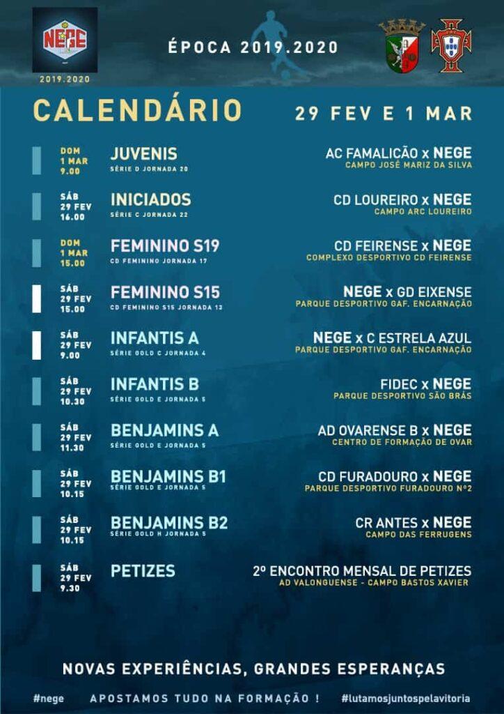 NEGE CALENDÁRIO SEMANA 27